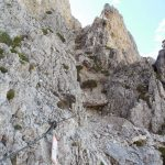 Alta Via Gunther Messner Aided Section