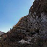 Alta Via dei Rondoi Path Mezzacosta Colombera