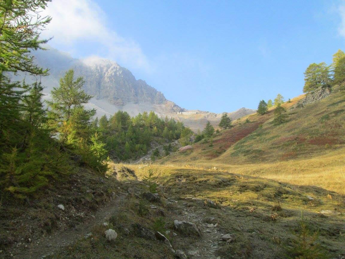 Approach towards Passo della Mulattiera