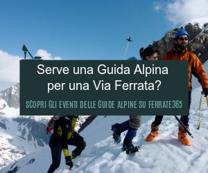banners for the Alpine Guides registered in Ferrate365