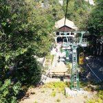 Monteain hut cableway