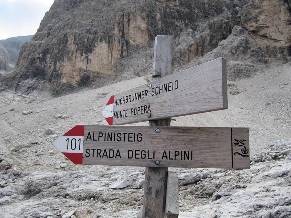 Ferrata Strada degli Alpini Dolomiti di Sesto   Ferrate365