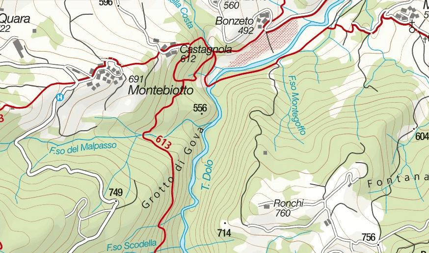 Balze del Malpasso map