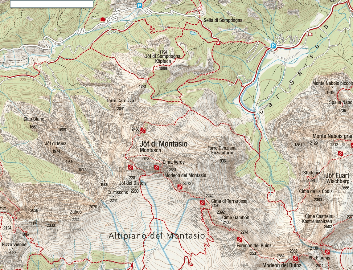 Amalia Ferrata Map