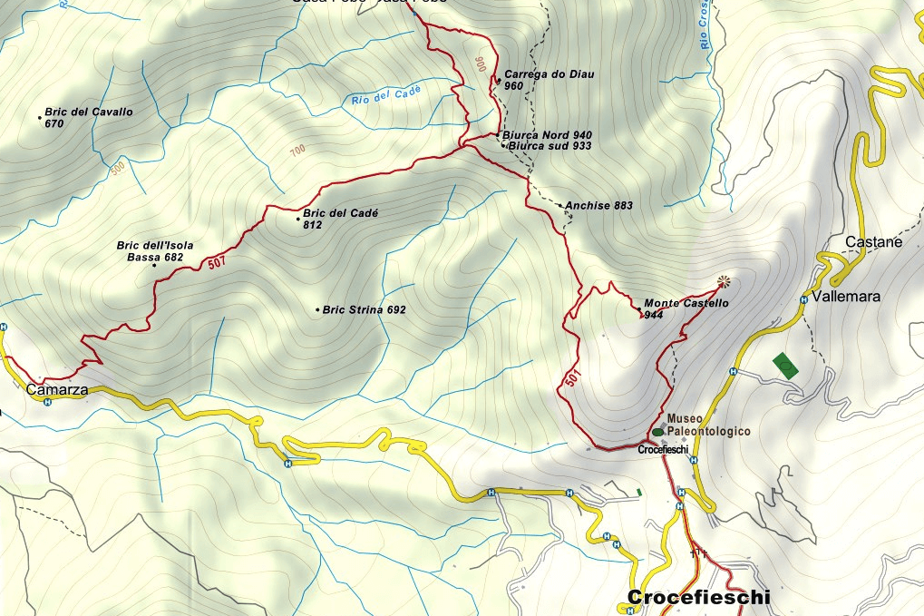 Deanna Orlandini Ferrata Map