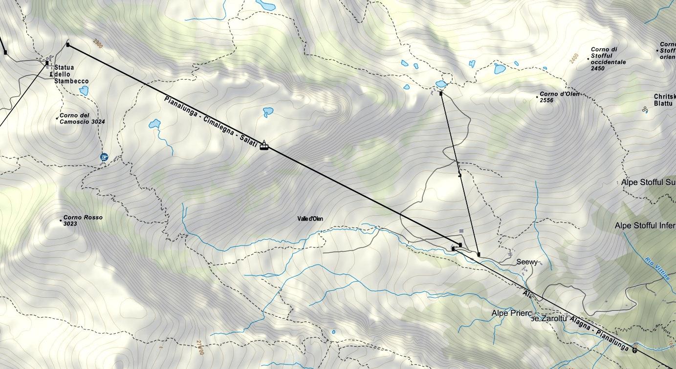 Cartina Ferrata Detomasi Cimalegna 2