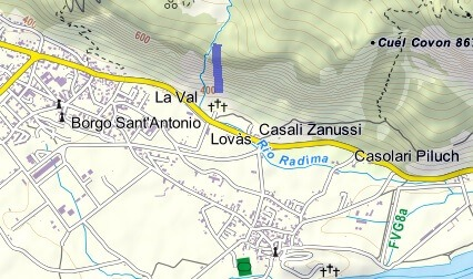 Devil's Farina Ferrata Map
