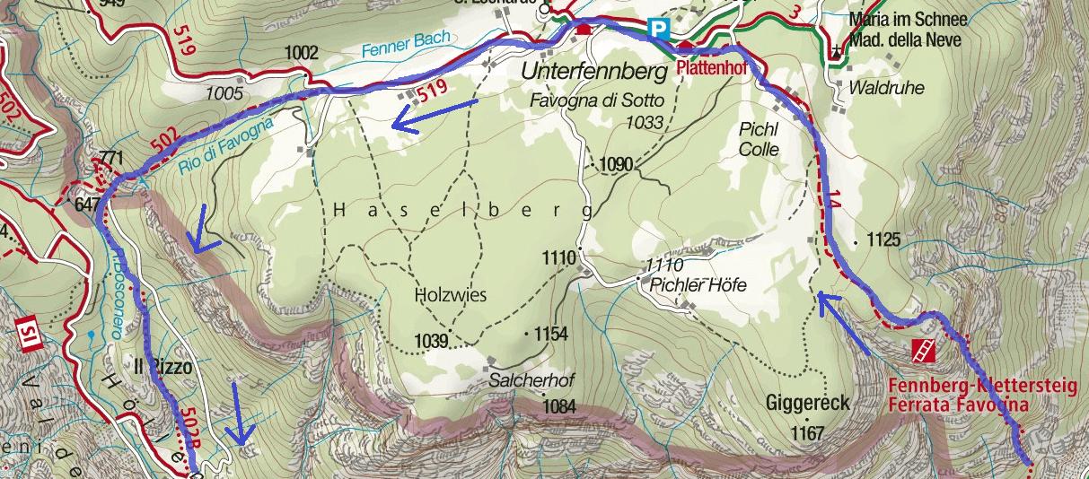 Cartina-Ferrata-Favogna-Itinerario-Dettaglio.png
