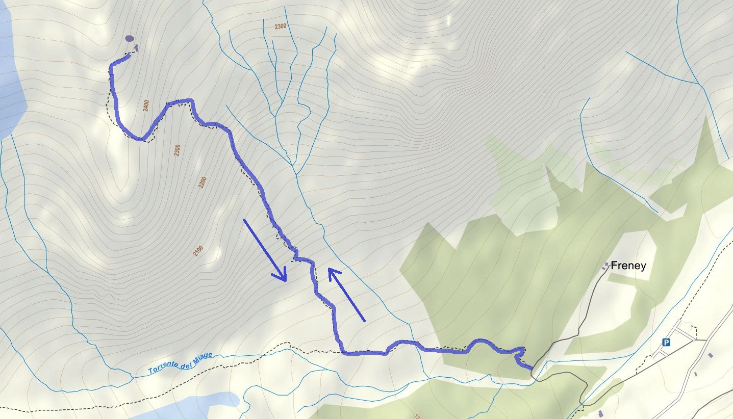 Garda Ferrata Trail Monzino Hut Itinerary