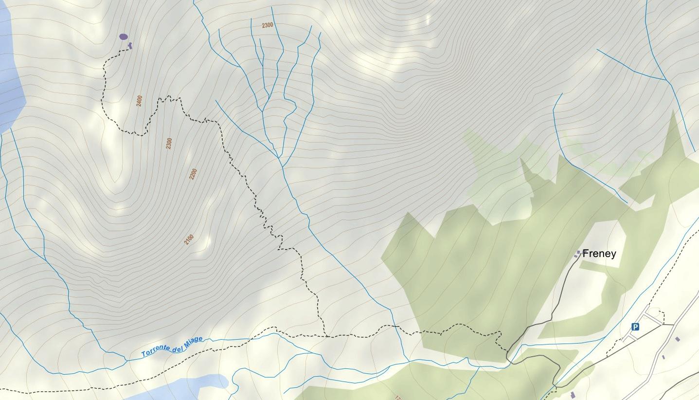 Cartina Ferrata Garda Rifugio Monzino