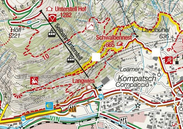 Knott Ferrata Map