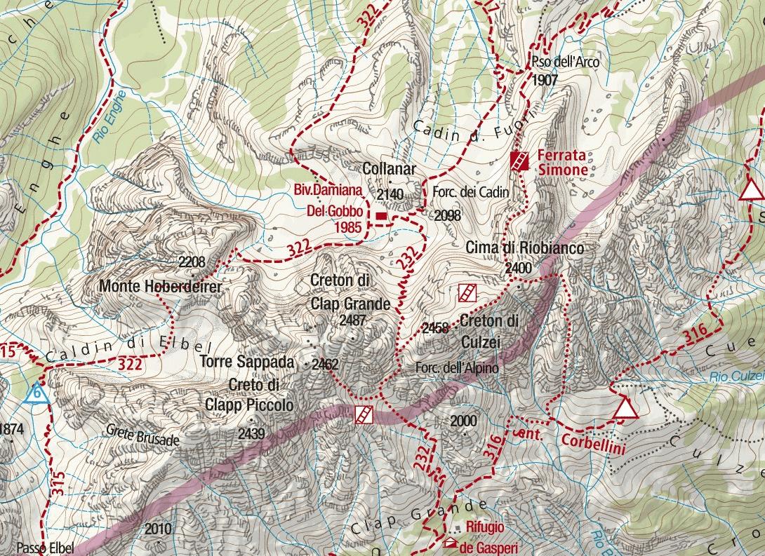 Simone Ferrata Map Detail 2