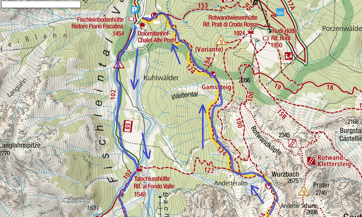 Alpine Road Route Alpine Route Itinerary Detail 1