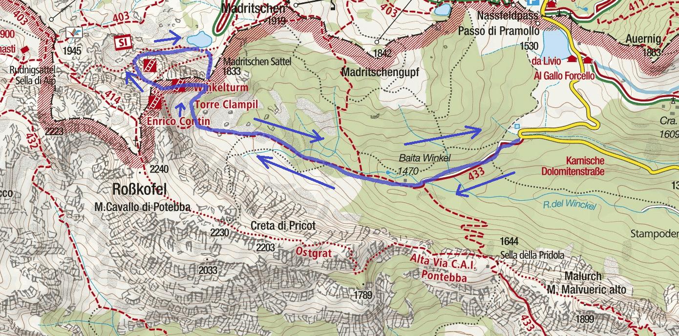 Cartina-Ferrata-Torre-Clampil-Itinerario-e1528446086485.png