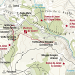 Giorrè Cargeghe Ferrata Map