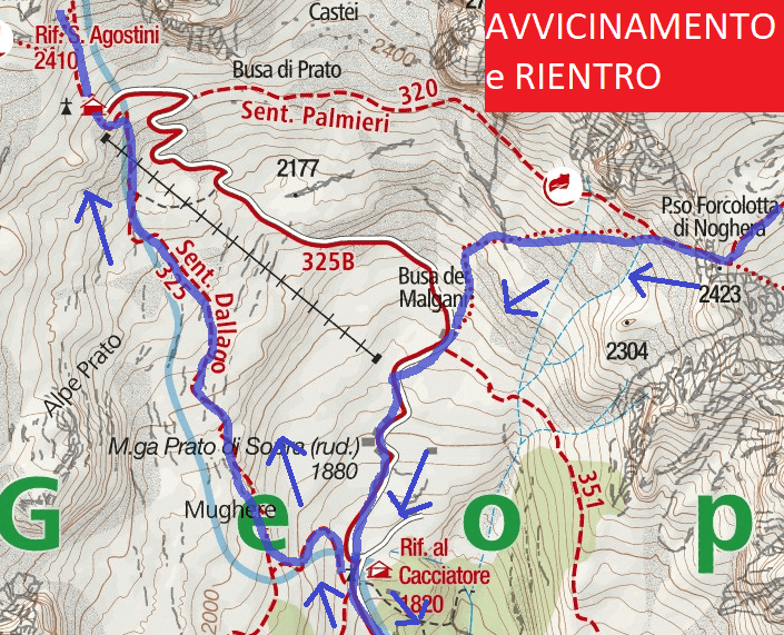 Apolloni Approach and Return Path Map