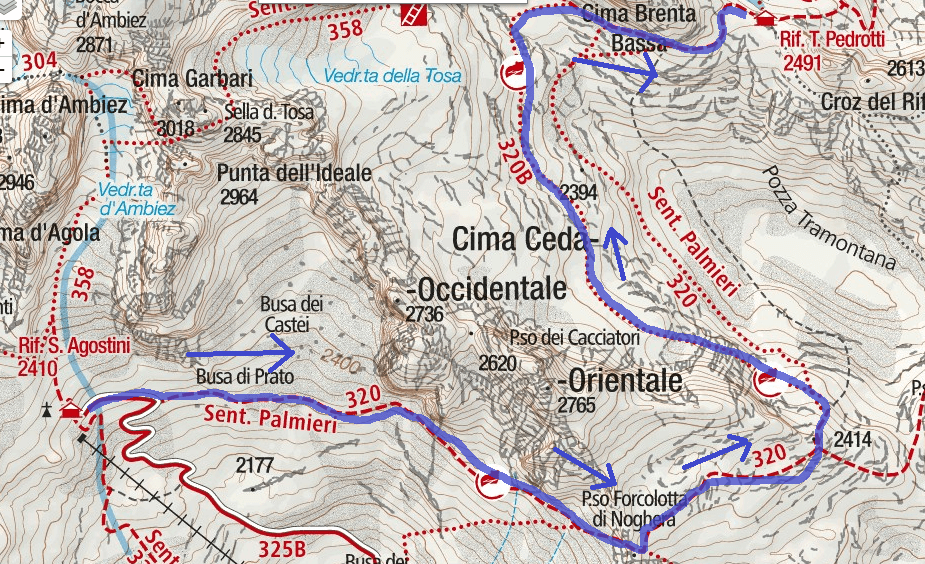 Apolloni Itinerary Route Map 1