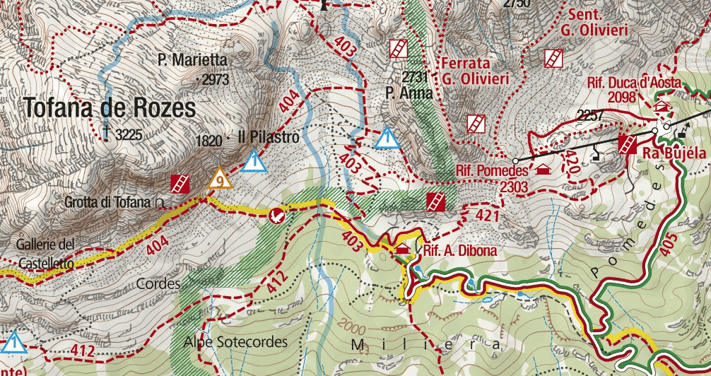 Astaldi Aided Path Map