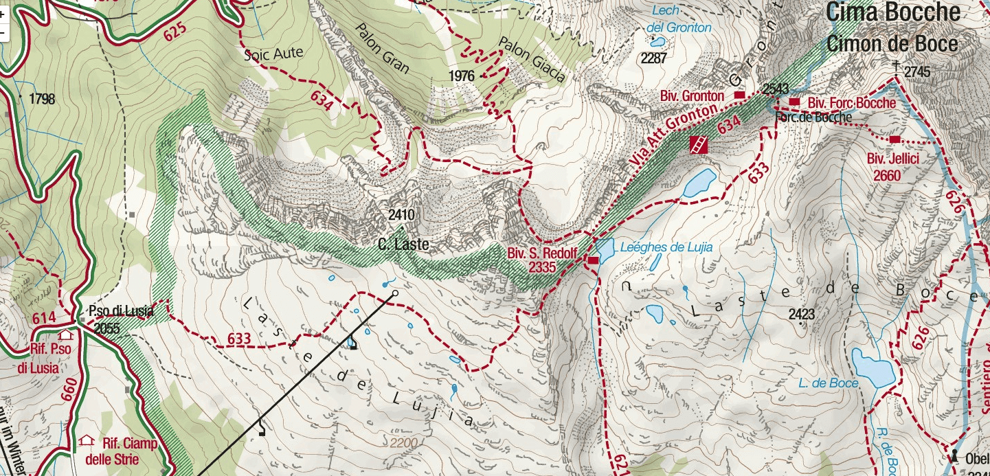 Gronton Aided Path Map
