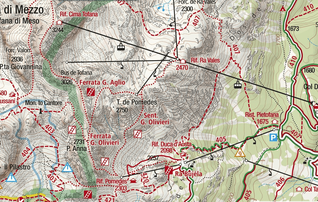 Olivieri Aided Path Map
