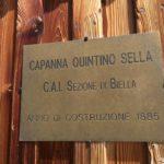 Map of the aided path Rifugio Quintino Sella 23