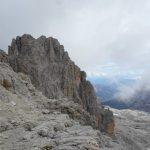 Cima Falkner from the Bocca Alta di Vallesinella