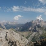With Omber Colac and Marmolada from the Ferrata Bepi Zac