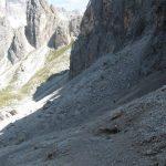 Devil Saddle descent