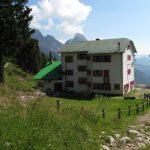 Ferrata 50 Clap 13 hut of gasperi