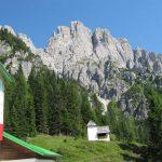 Ferrata 50 Clap 16 hut of gasperi towards creton