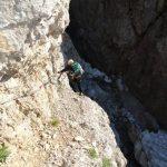 Ferrata 50 Clap 33 corbellini path