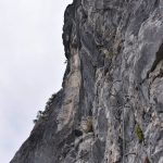 Ferrata Adventure Climb Varmost 23 second section slab