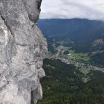 Ferrata Adventure Climb Varmost 35 edge