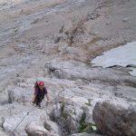 Ferrata Alleghesi Return to Via Normale 4