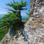 Ferrata Alpini Bismantova approach 1