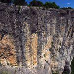 Ferrata Alpini Bismantova parete opposta alla fine