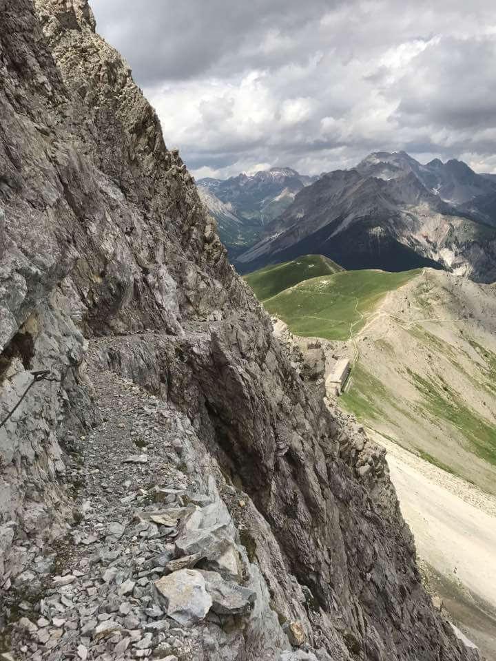 Ferrata Alpini Charrà