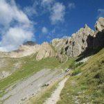 Ferrata Alpini Oronaye 30 approach
