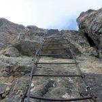 Ferrata Alpini Oronaye 4 ladder