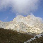 Ferrata Alpini Oronaye 9 approach