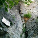 Ferrata Alpini Stone of Bismantova start