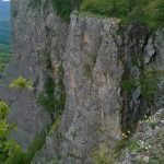Ferrata Alpini Pietra di Bismantova final wall
