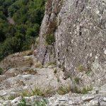 Ferrata Alpini Pietra di Bismantova placca vicino alle firme