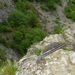 Alpine Ferrata Stone of Bismantova final ladder