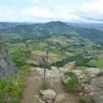 Ferrata Alpini Pietra di Bismantova termine ferrata