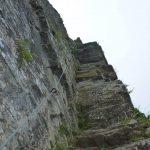 Ferrata Alpini Pietra di Bismantova ultima placca