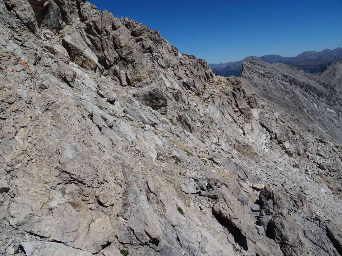 Ferrata Alpini Towards Punta Charra 3