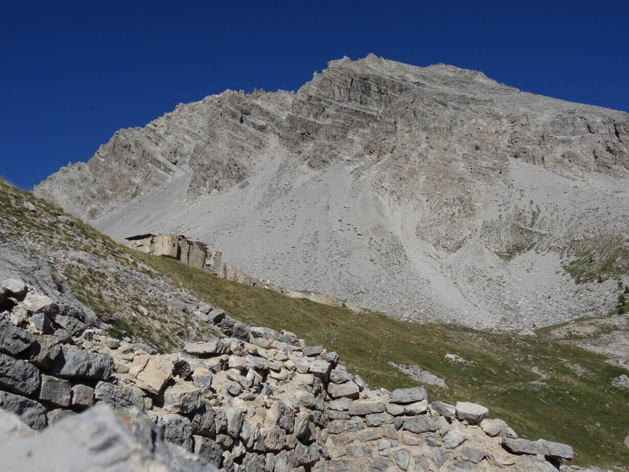Ferrata Alpini Towards Punta Charra 5