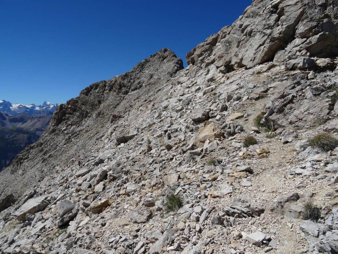 Ferrata Alpini Towards Punta Charra