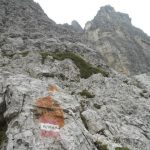 Ferrata Amalia 26 approach sign